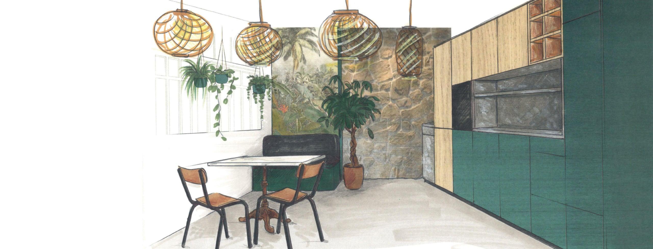 projet cuisine architecte