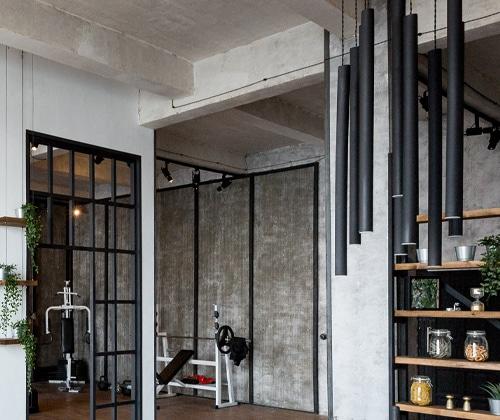 appartement loft industriel
