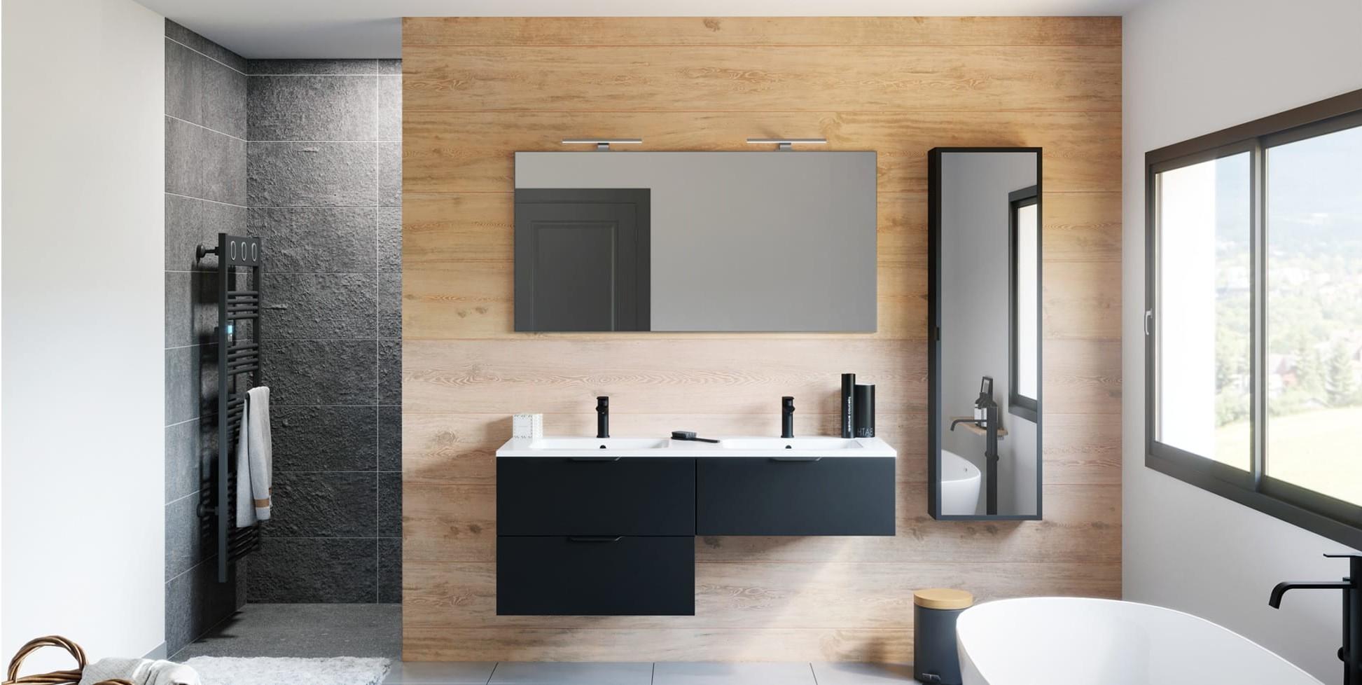 façade meuble de salle de bain discac