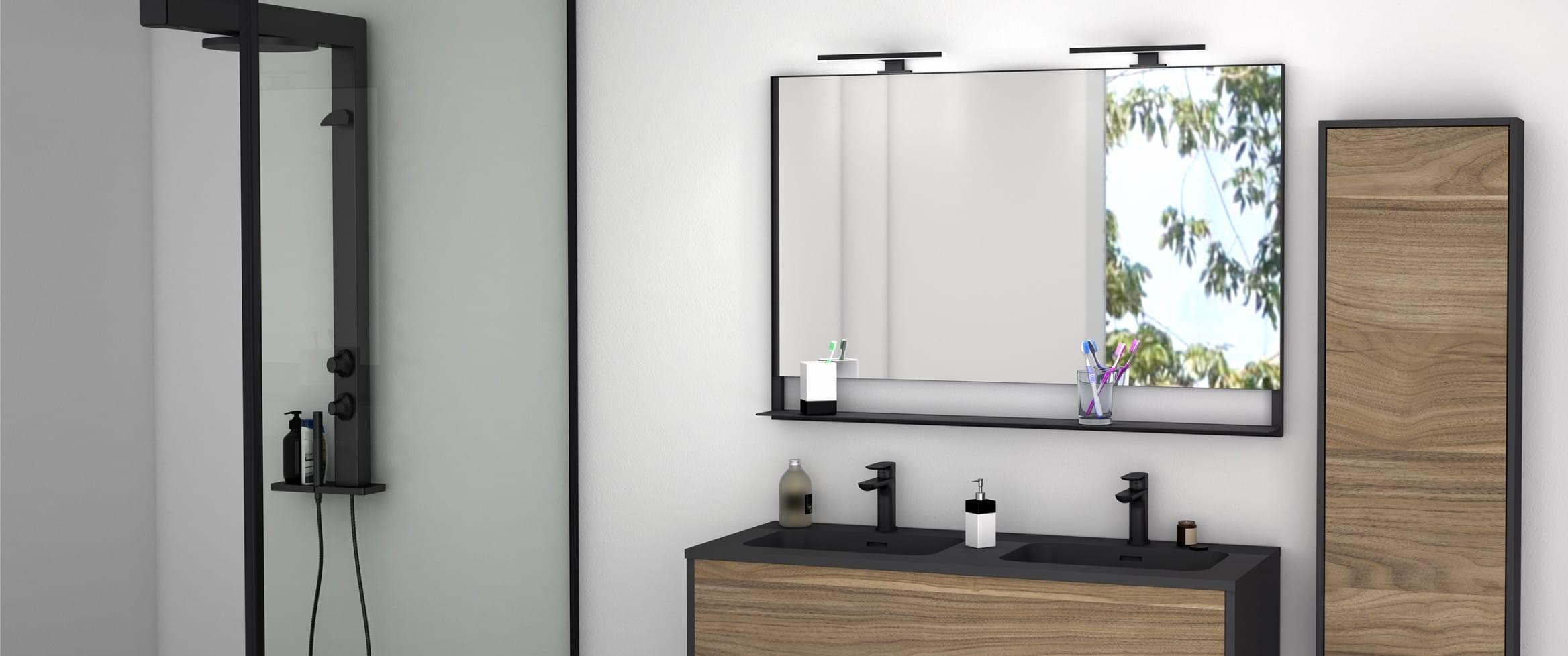 Miroir salles de bain discac