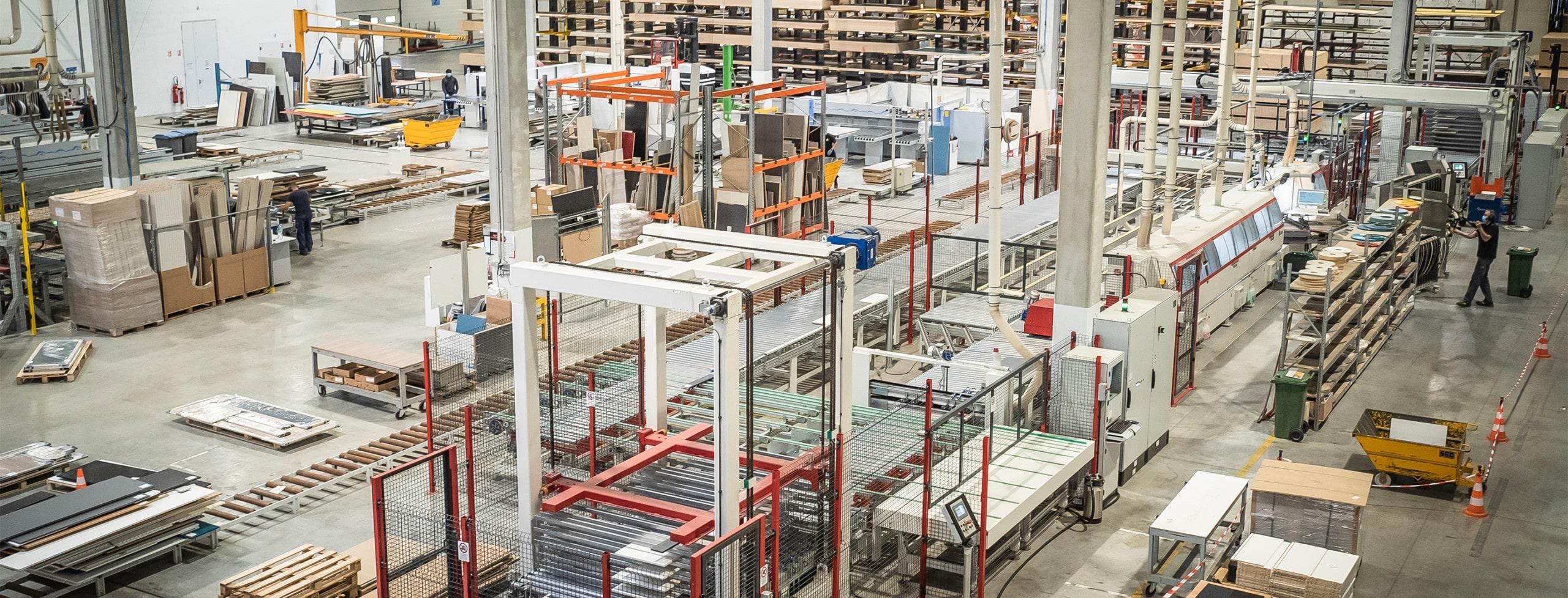 usine production discac